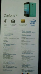 Zenfone4パンフ
